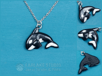 Orca pendant for morteraphan