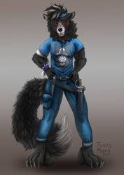 Character design- bad wolf
