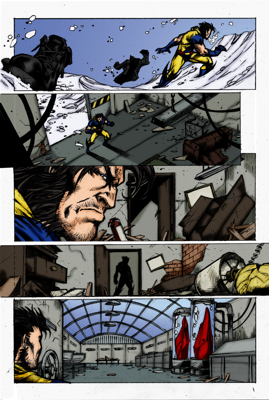Wolverine Page 3