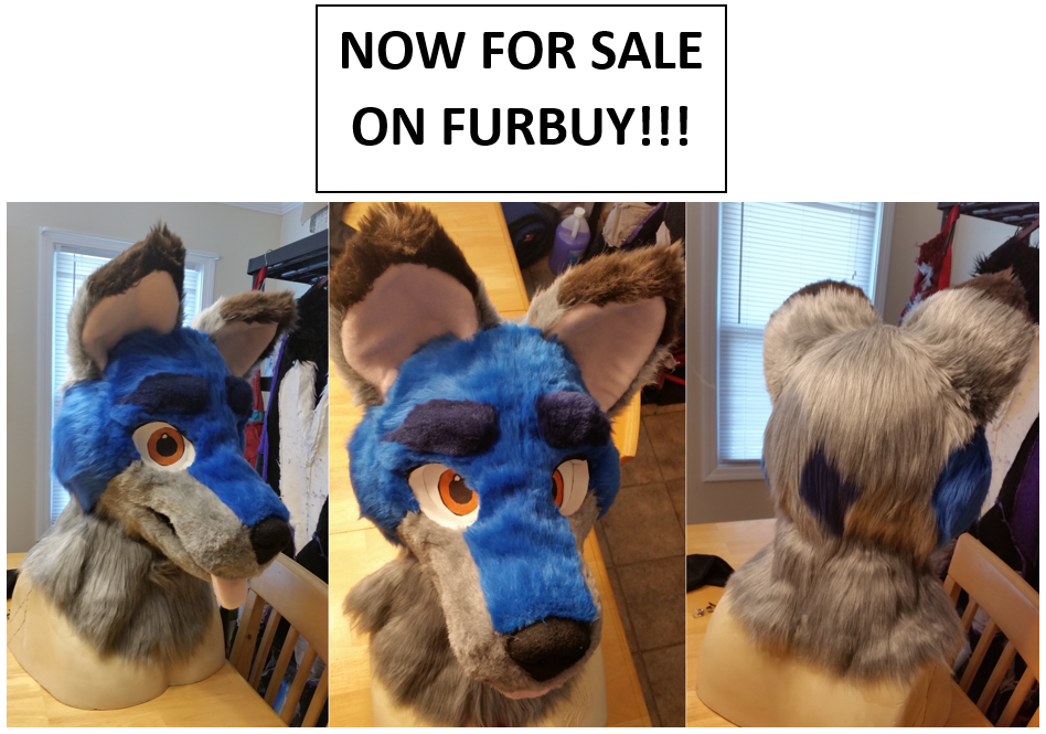 REMINDER: Fursuit Head FOR SALE