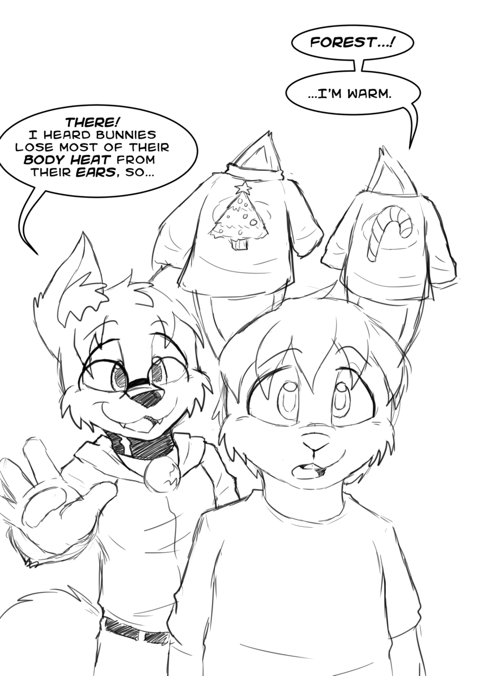 Ear Warmers (Christmas 2014) (Forest/Ceonn)