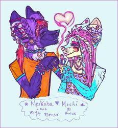 Mochi and Merkaba