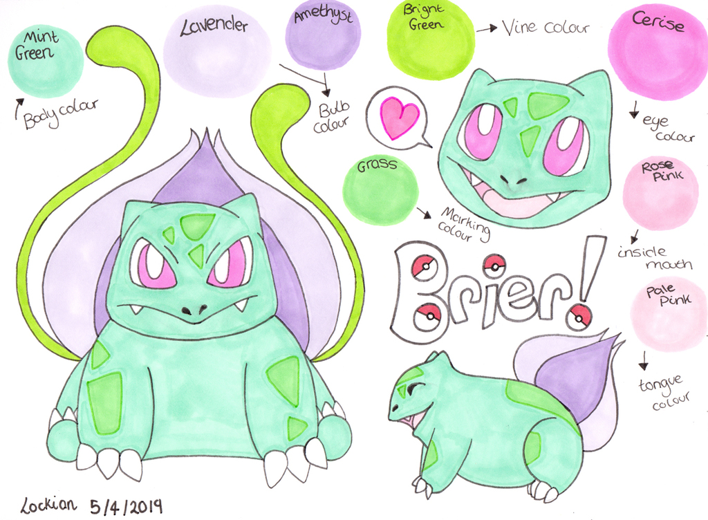 Brier - The Bulbasaur!