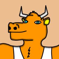 Draco's anthro bull form