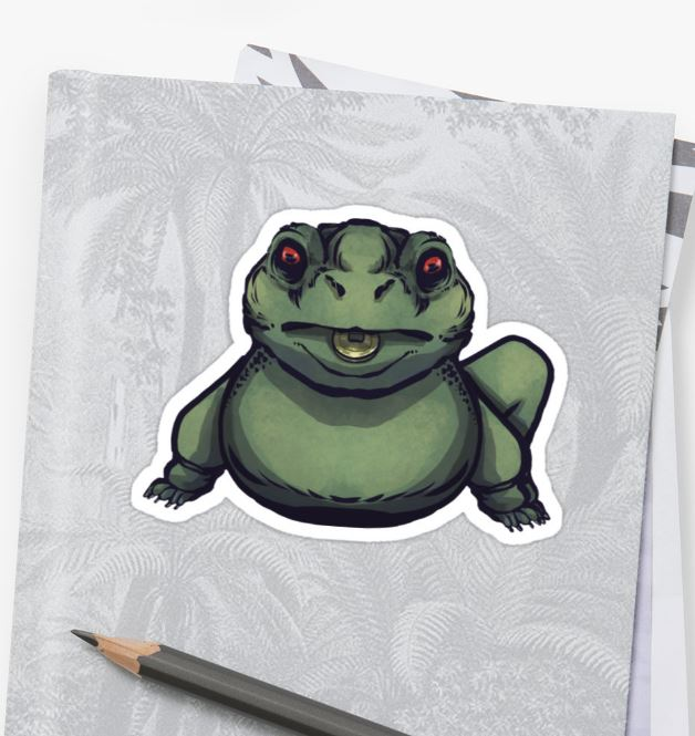 Redbubble: Jin Chan, the three legged toad