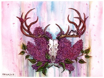 Elk and Lilac