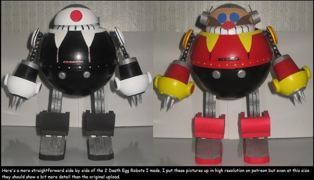 side by side Death Egg Robots