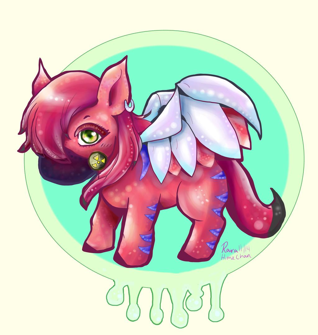 Radioactive Pony (Request for chubeko4)