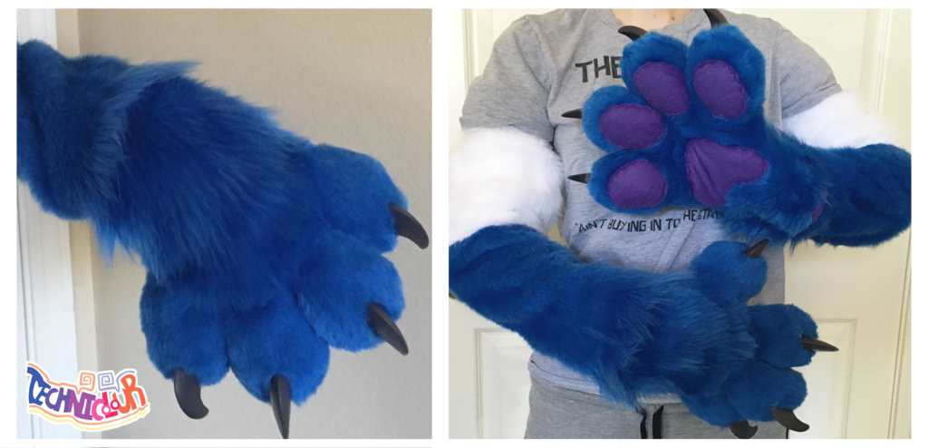 Pilot Armsleeves and Handpaws