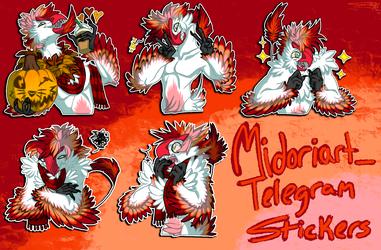 Solana telegram stickers