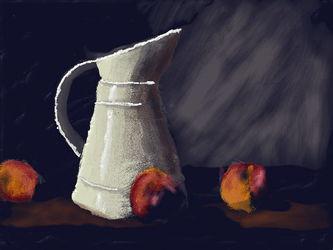 Art Academy: Milk and Peaches