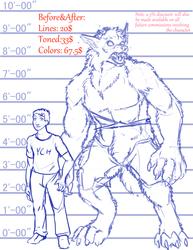 Preposed Werewolves: Lupus Brutus(Male)