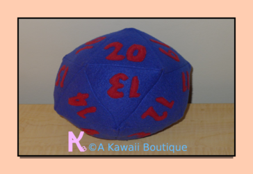 Spindown D20 Plush