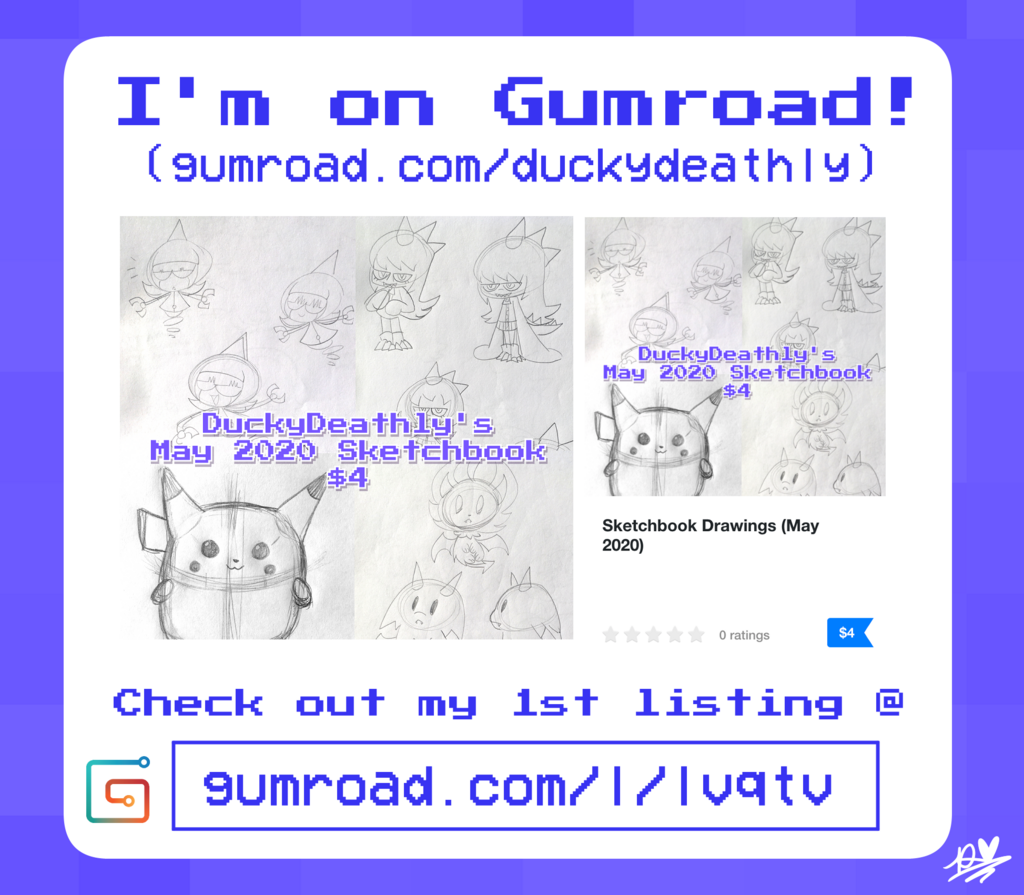 I'm on Gumroad!