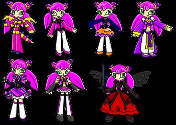 Luna DreamSelfy Outfits