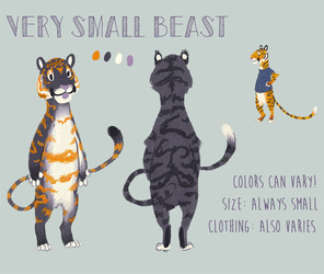 Very Small Beast Reference