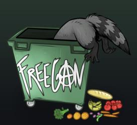.: Freegan Raccoon !