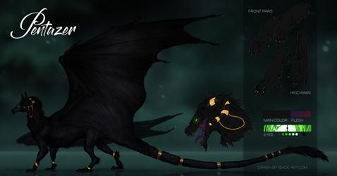 Abyssal dragon Pentazer