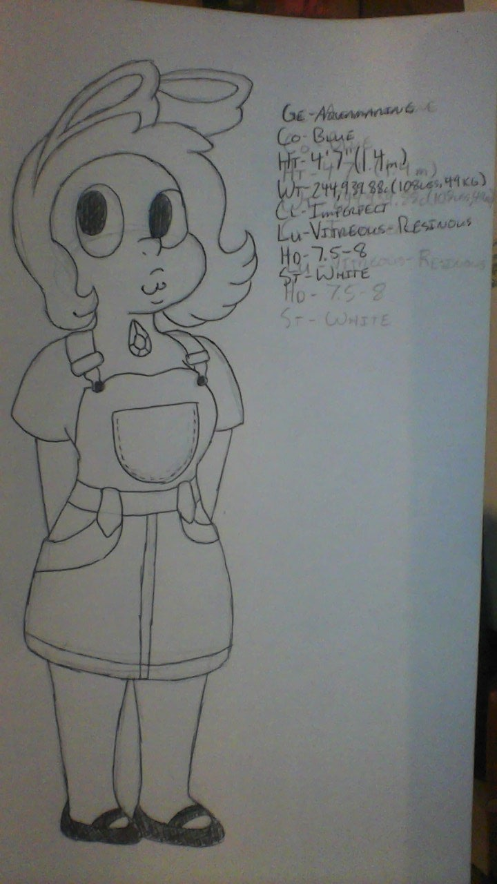 Most recent image: Aquamarine Character Sheet