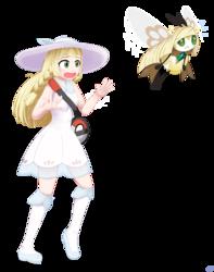 Lillie's Pokemom