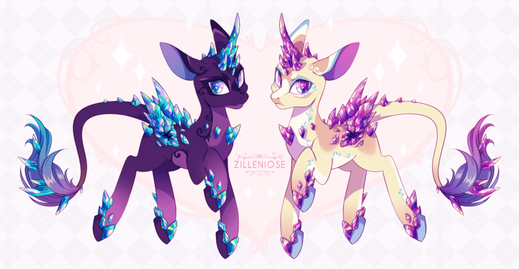 Featured image: [ADOPT OPEN] Daeduli: Gem Unicorns!