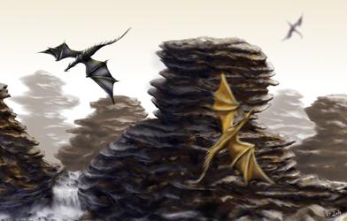Dragon Spires - Speedpaint
