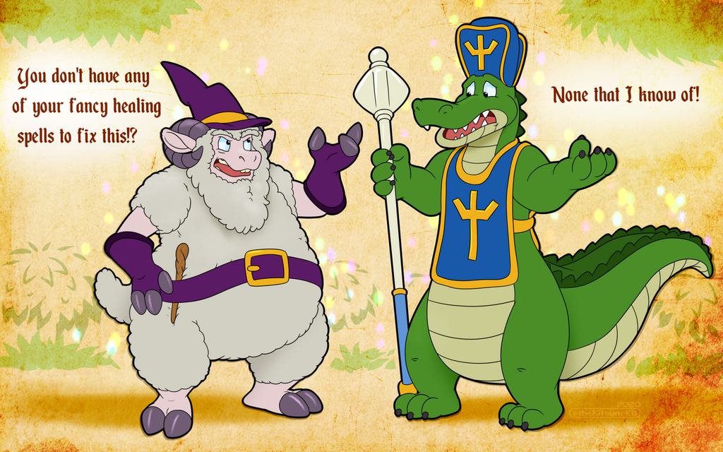 Adventuring Party Toons