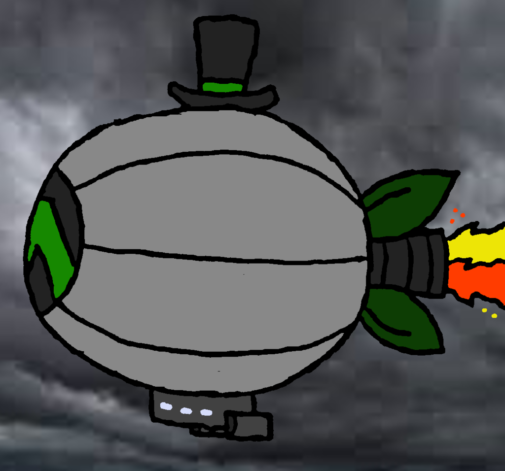The Mech Zeppelin