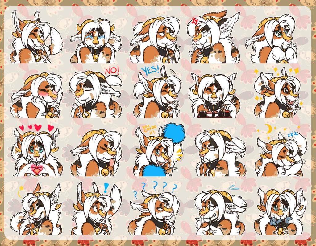 Most recent image: Telegram Stickerpack - Manda - By: CupcakeCreature