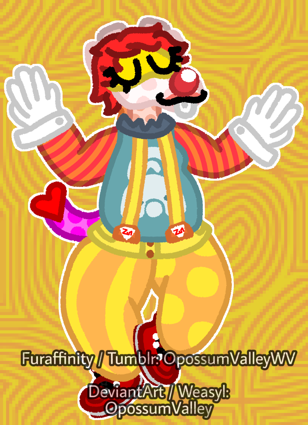 Yet Another Clowny Drawing