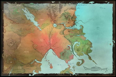 Dreamkeepers Worldmap