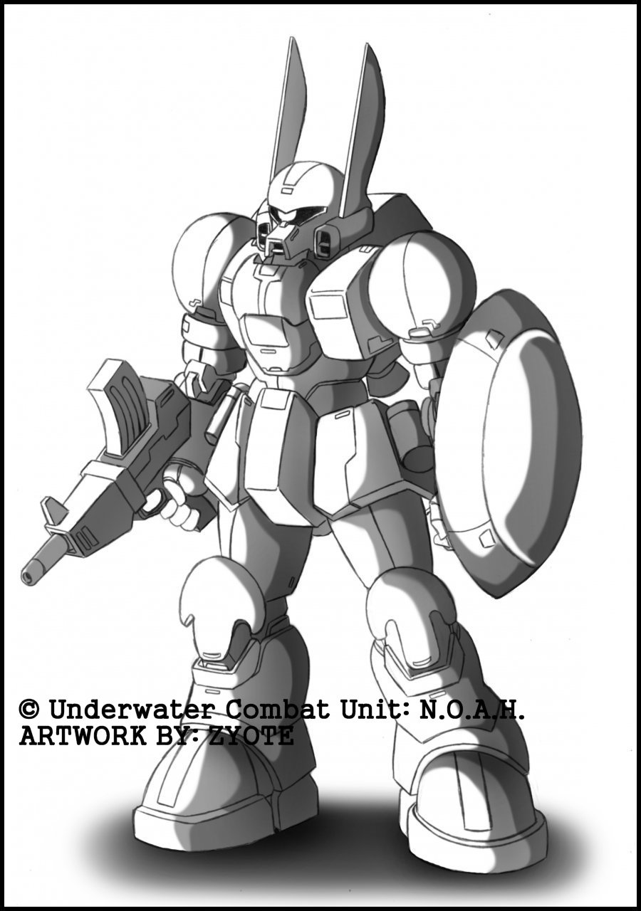 Underwater Combat Unit: N.O.A.H. - A-01 Lepus