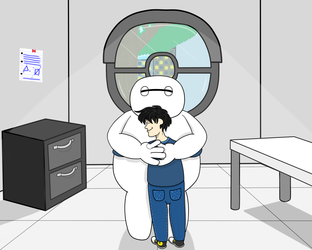 A little hug goes a long way!