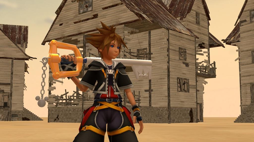 SFM Kingdom Hearts 2 Sora Fan Art
