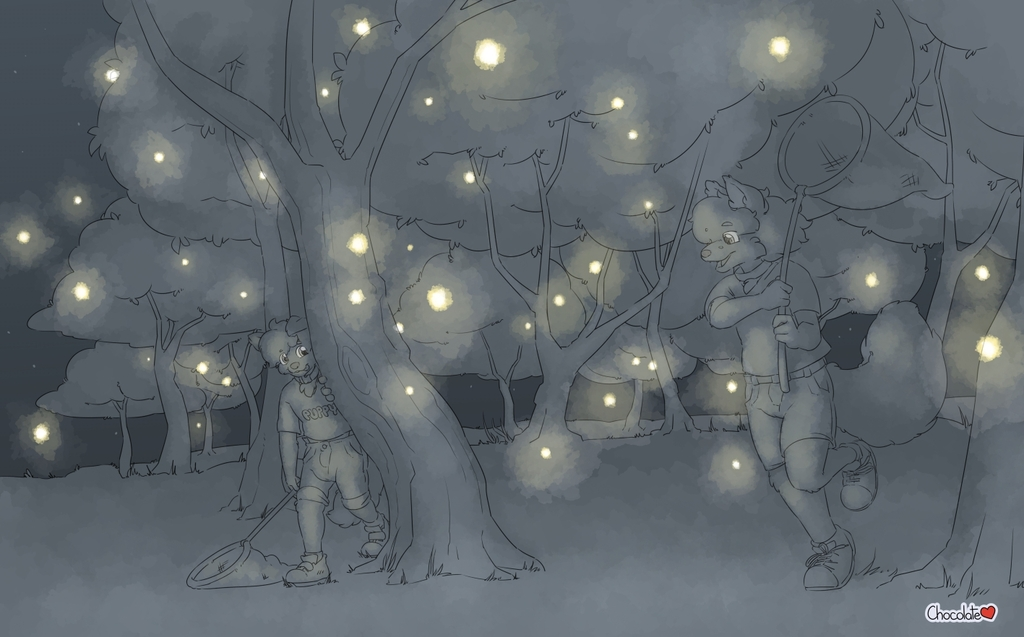 Wolfie's Streams - Glowbug Hunting
