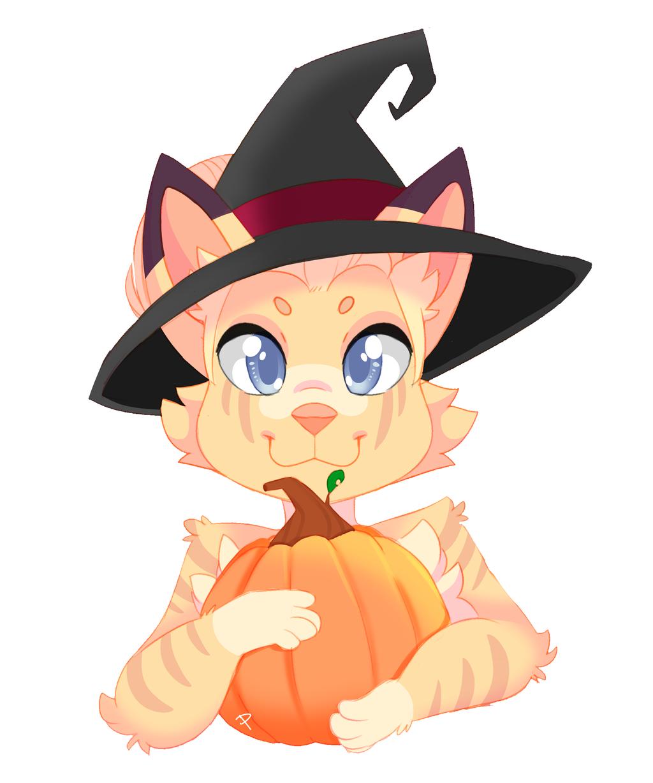 Pumpkin YCH - Rosie