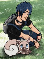 +:Brayden and Rockruff:+