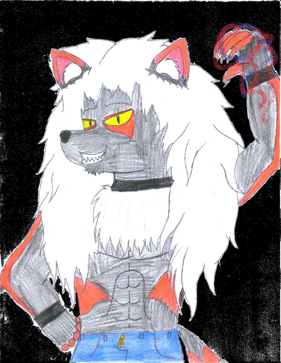 Most recent image: Reyai, the Shadow Wolf