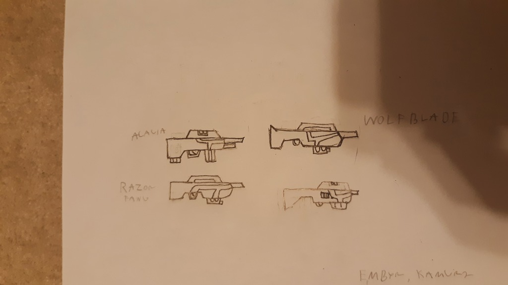 Most recent image: Darkwolf Imperial Arsenal: Carbines