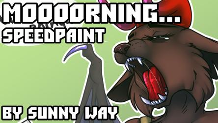 Moooorning... - Speedpaint
