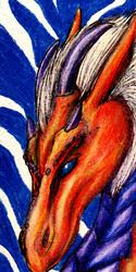 Whitemane Dragon Bookmark