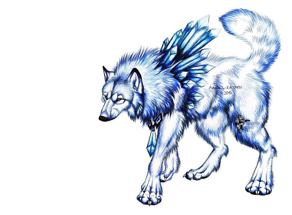 Ice Crystal Woofie