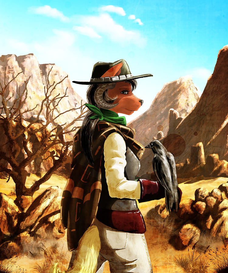 Walkin' Through The Desert