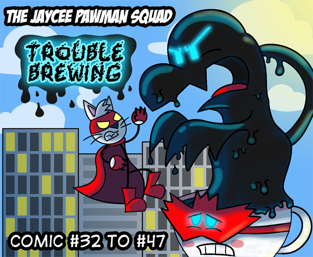 Featured image: JPS Title Card: Trouble Brewing