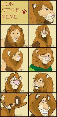 Zion the lion Meme