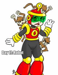 30 Day Halloween Costume Challenge - Robot