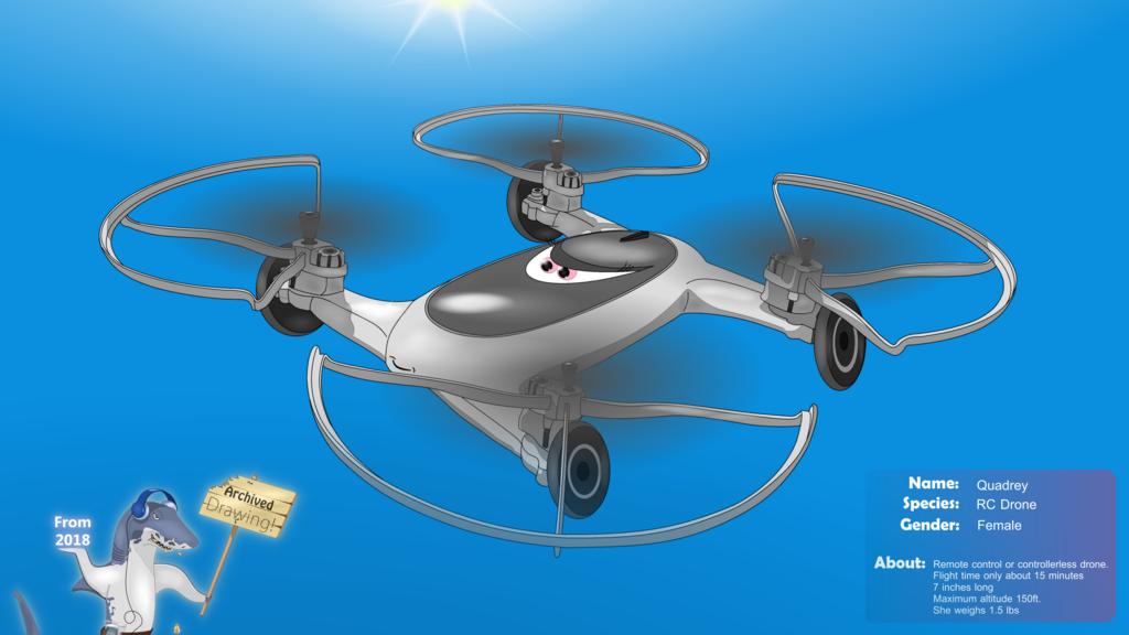 The Jam Shark - Quadrey the Drone (Archive)