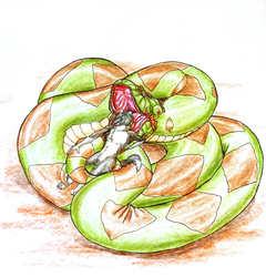 Vore Commission--Snake Tamer