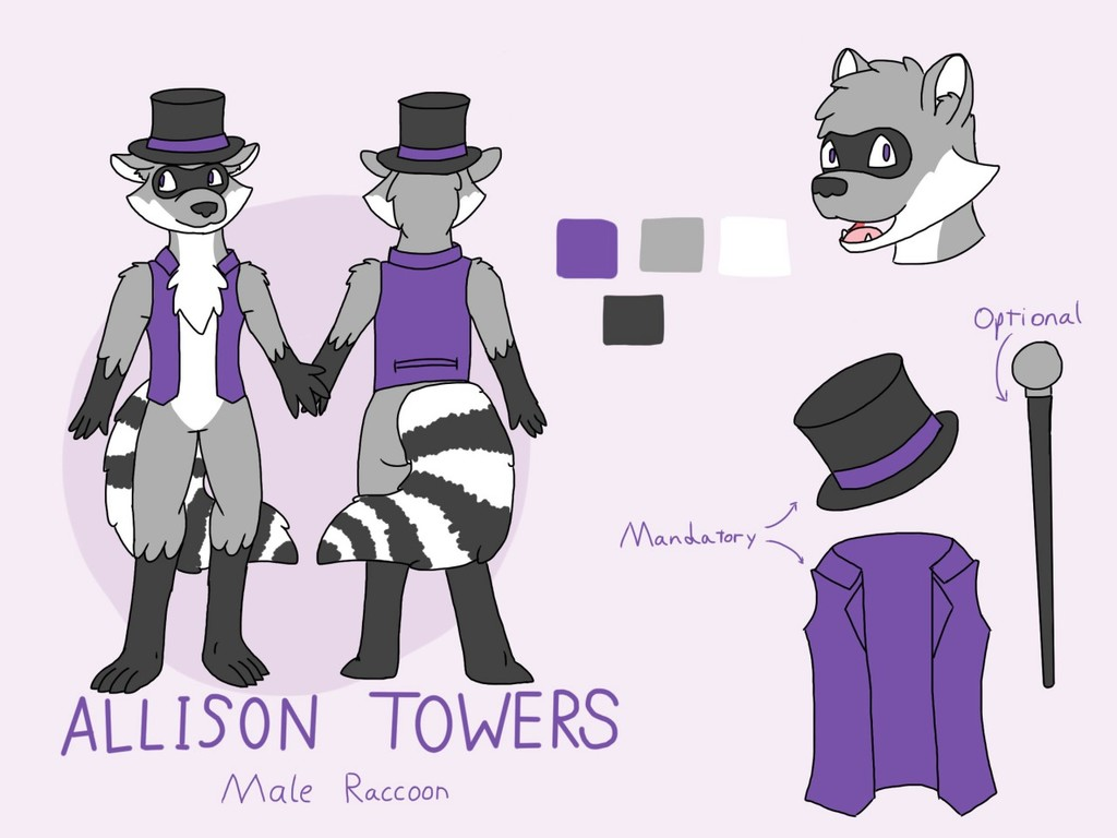 Allison Towers Refsheet Comission