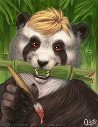 Panda paintings